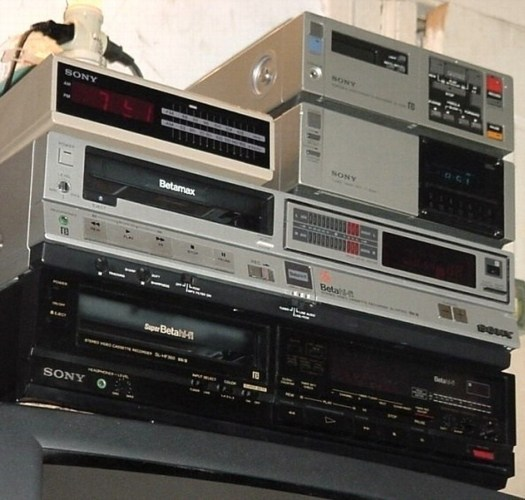 Altes betamax Equipment Sony