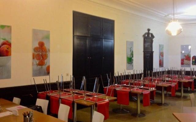 Speisesaal vor dem Umbau