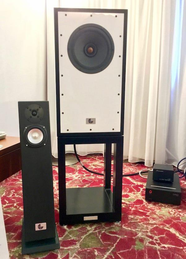 Suesskind Lautsprecher kleine und große Ausführung