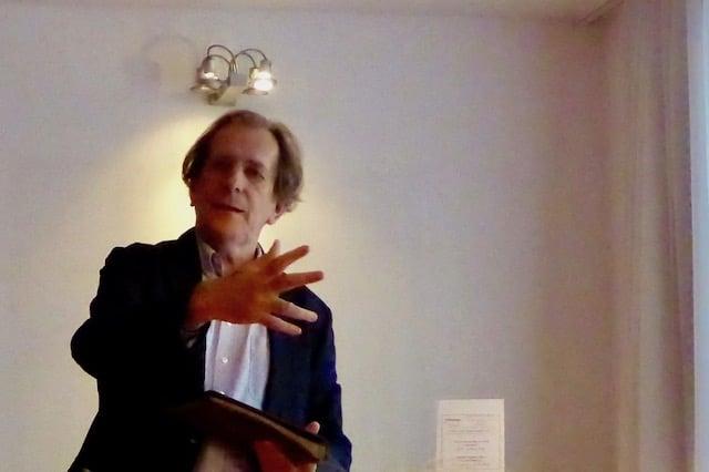 Reinhard Haberfellner beim Vortrag Klangbilder 2016 Irrtümer