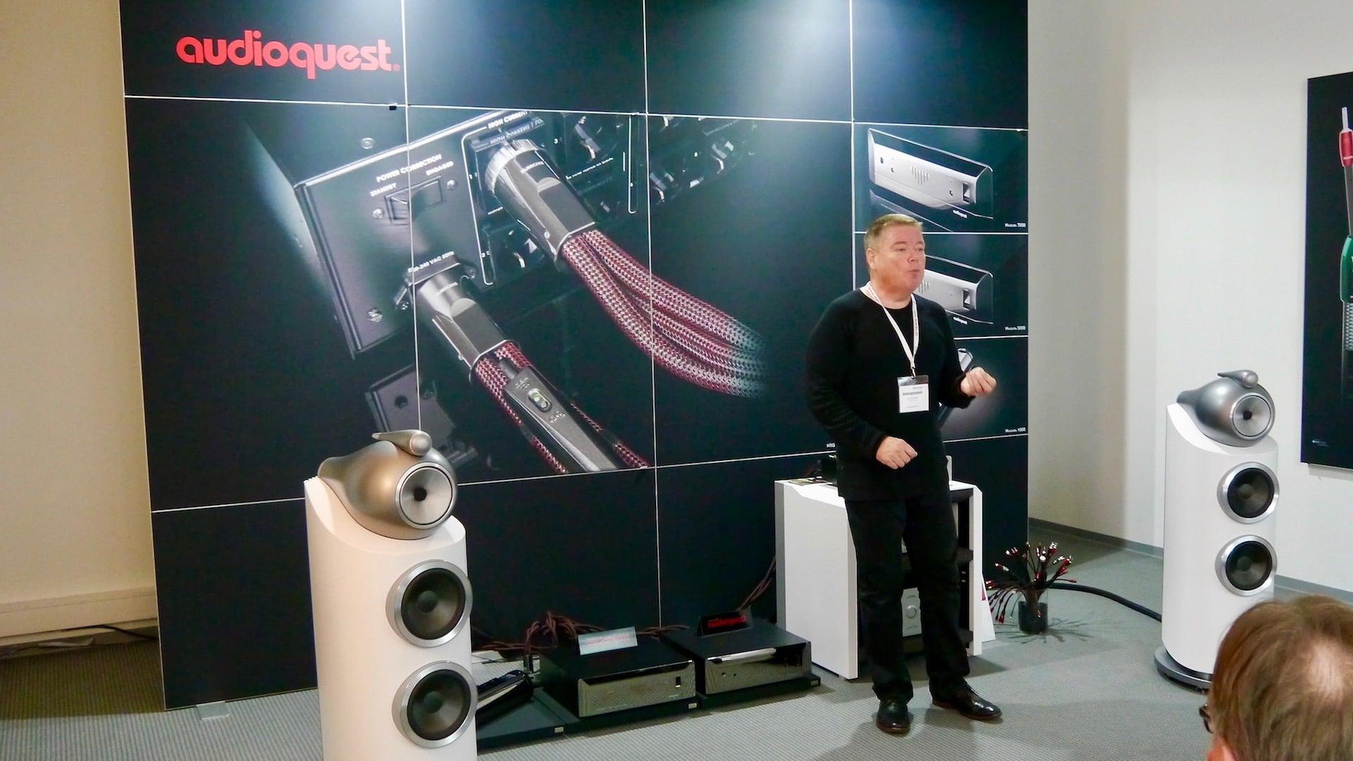 Vorführung von Audioquest Stromreiniger