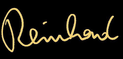 Handschriftlicher Vorname Reinhard