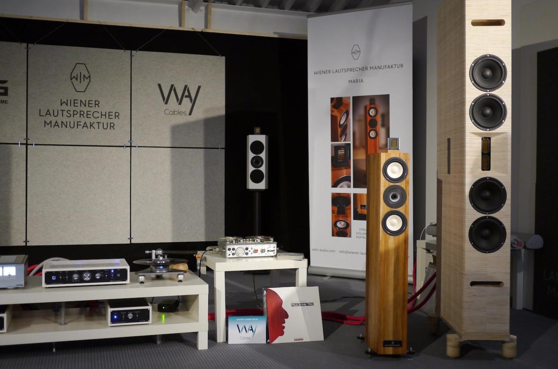 Demoraum der Wiener Lautsprecher Manufaktur