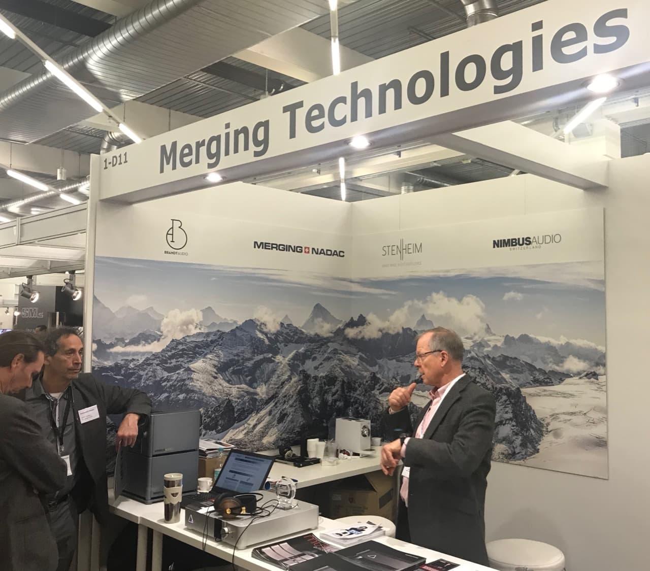 Höchstwertige Elektronik von Merging Technologies aus CH