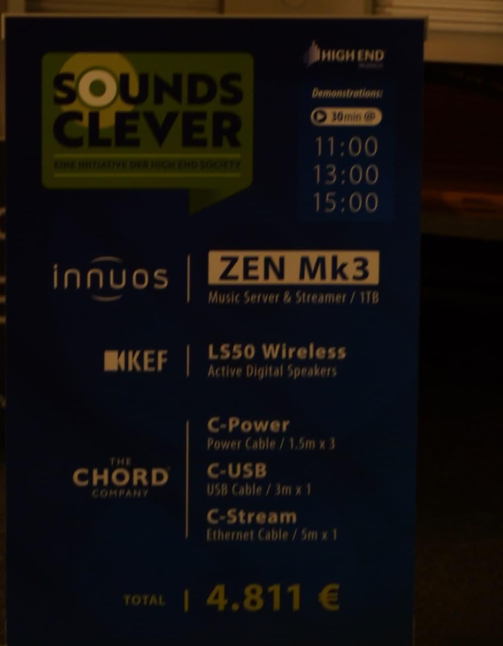 Aktivbox mit Streamer - perfekter Sound um 4800.-