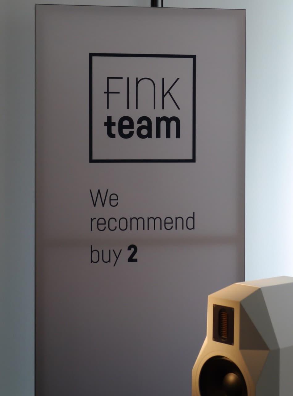 Fink empfiehlt den Kauf von 2 Boxen :-)