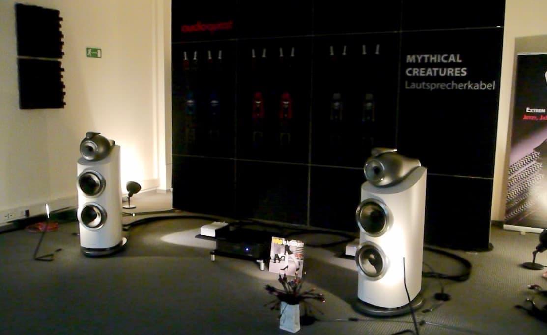 Audioquest Vorführung mit B&W 600