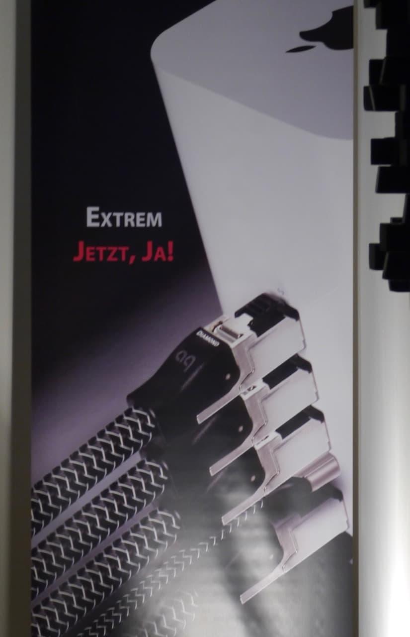"Auch Ethernetkabel ""klingen"" , face it!"