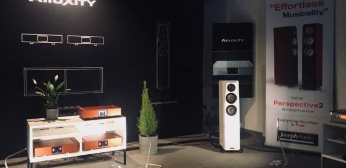 Joseph Audio mit Alluxity