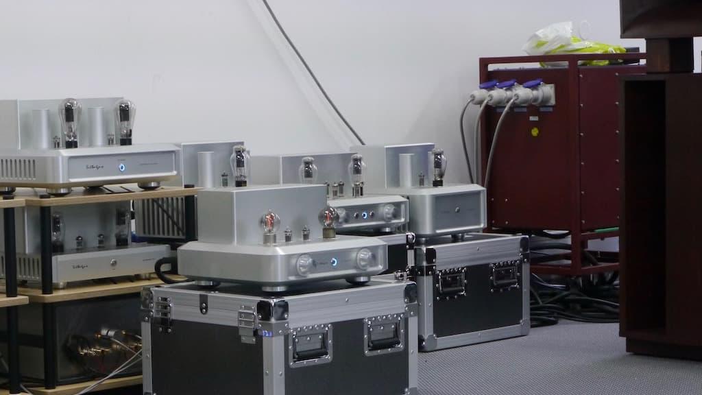 Röhrenverstärker für die Slivatone Hörner samt