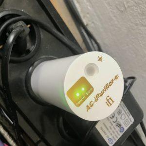 Schukostecker zum Reinigen des Stroms