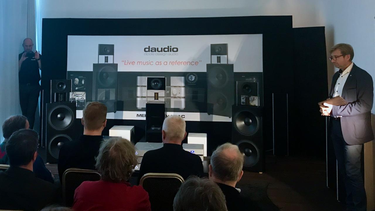 DAUDIO Open Baffle Lautsprecher