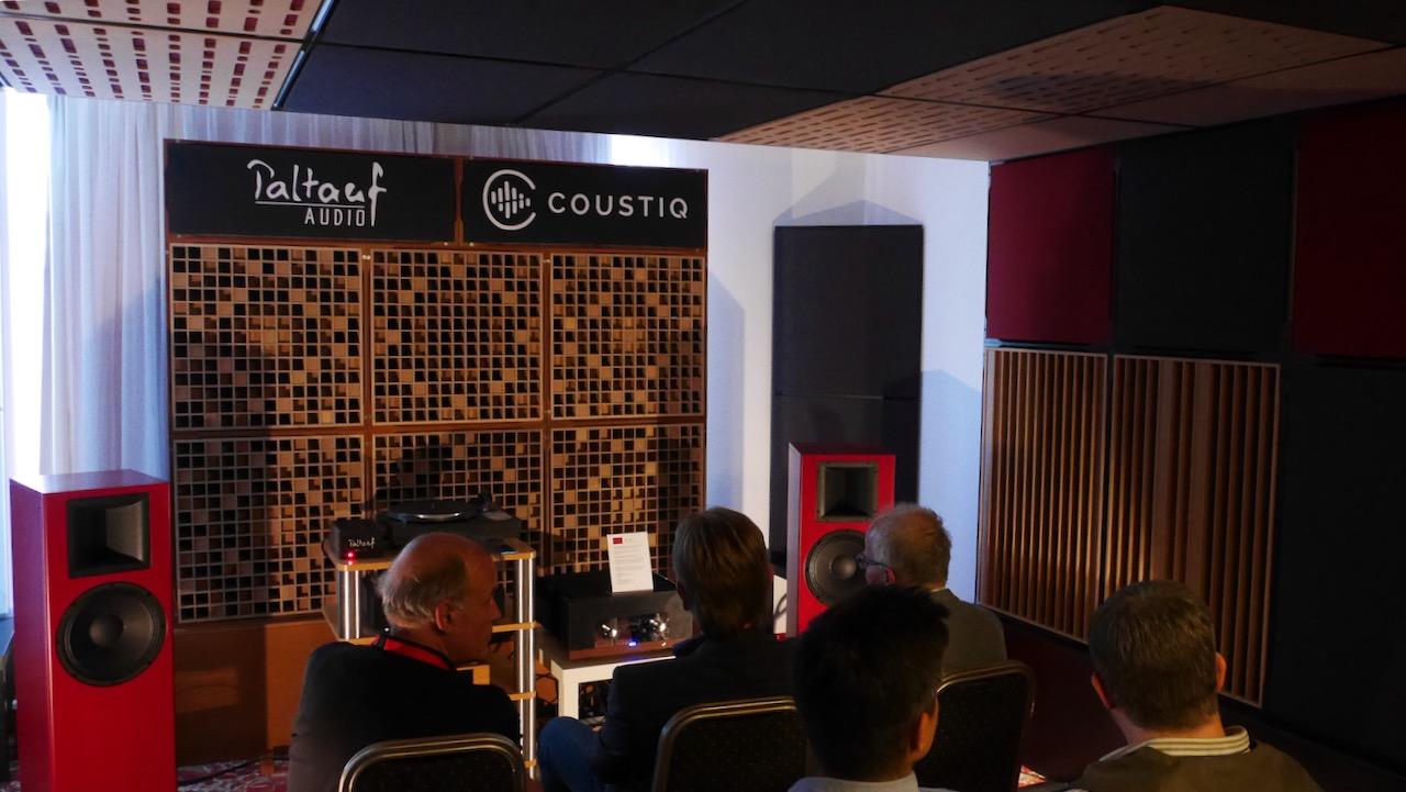 Paltauf Vorführraum mit perfekter SAkustikausstattung von Coustic
