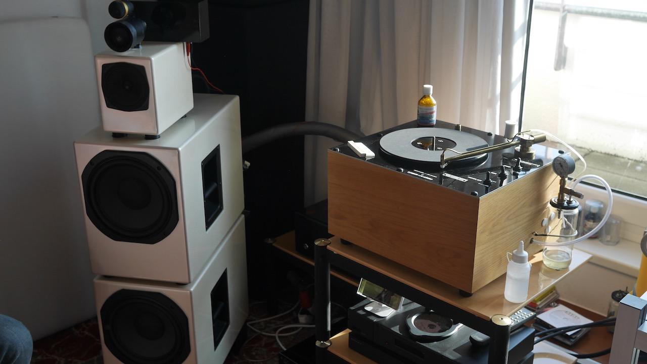Plattenwaschmaschine a la Schömer