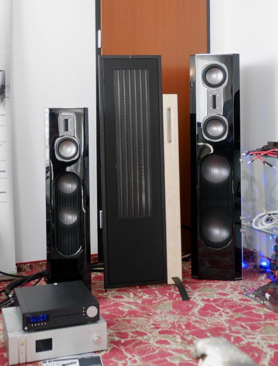 Quadral Lautsprecher mit AVM Elektronik