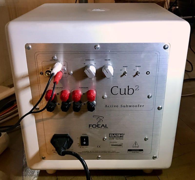 Focal Cub2 Rückseite