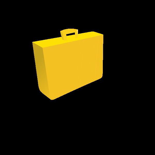 Der gelbe Koffer von der Post