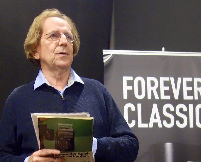 Reinhard Haberfellner als Vortragender